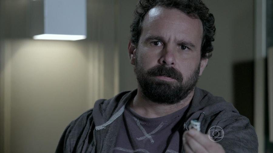 Ismael (Jonas Torres), em Império (reprodução TV Globo) - Reprodução / Internet