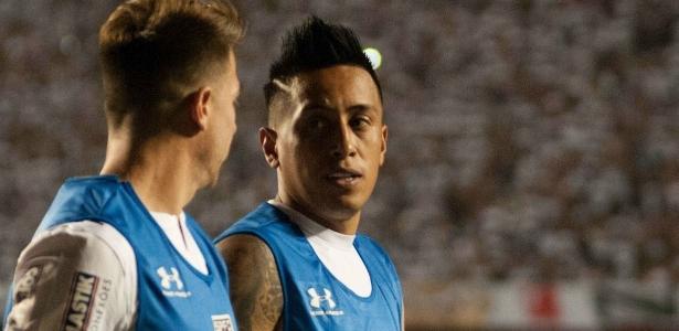 Cueva deve desfalcar o São Paulo na partida de quarta-feira, contra o Atlético-MG