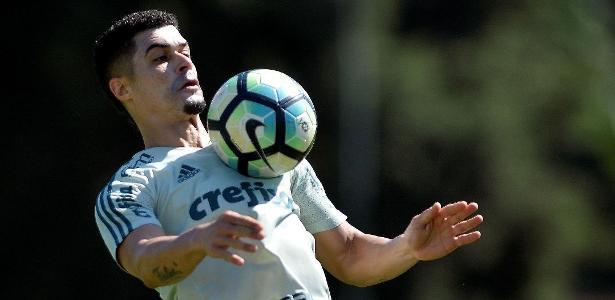 Egidio volta ao Palmeiras na segunda-feira, segundo o técnico Alberto Valentim