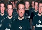 Zuckerberg diz que não pensa em renunciar - (SAUL LOEB / AFP)