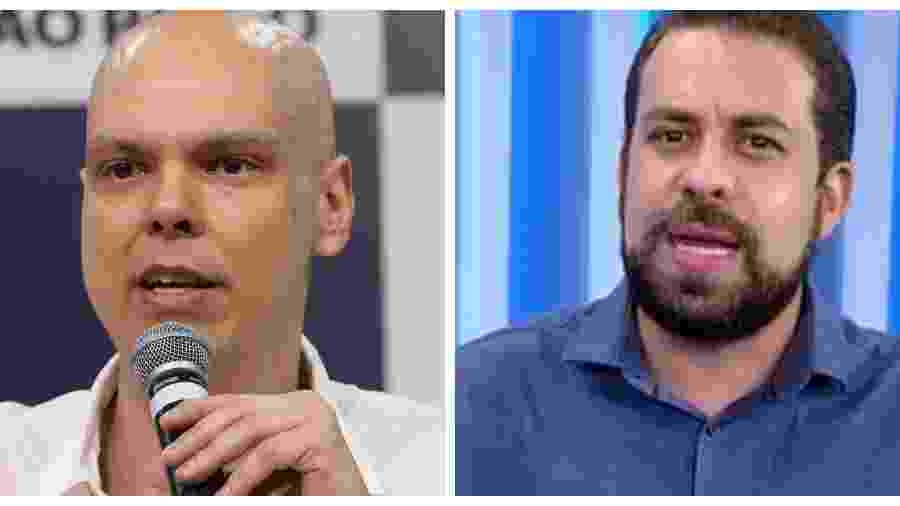 Bruno Covas (PSDB) e Guilherme Boulos (Psol) -