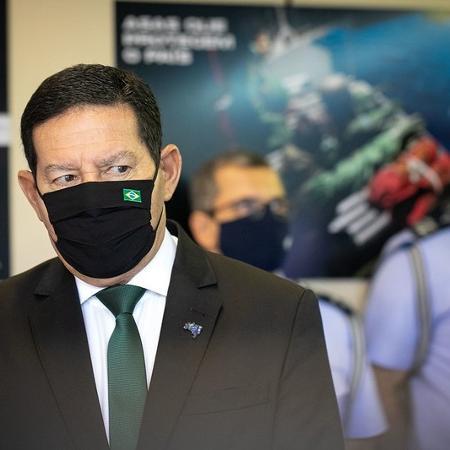 """""""Iniciativa privada terá muita dificuldade para comprar vacina"""", diz Mourão - Bruno Batista /VPR"""