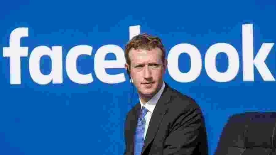Mark Zuckerberg, CEO do Facebook, que agora enfrenta ações do Ministério da Justiça e Segurança Pública que podem render multa de R$ 18 milhões - Divulgação