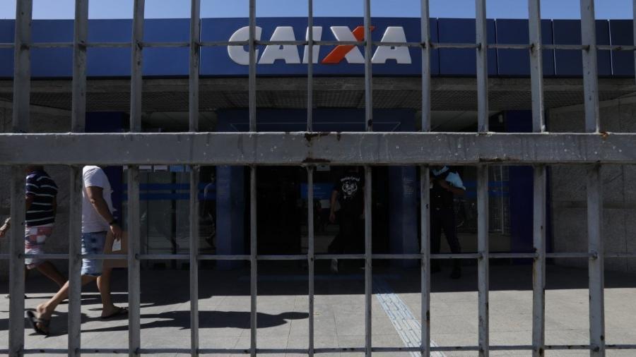 Imagem mostra fachada da Caixa Econômica Federal                       -                                 DAY SANTOS/JC IMAGEM