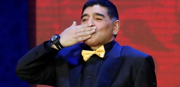 Maradona disse que Real Madrid não vive bom momento