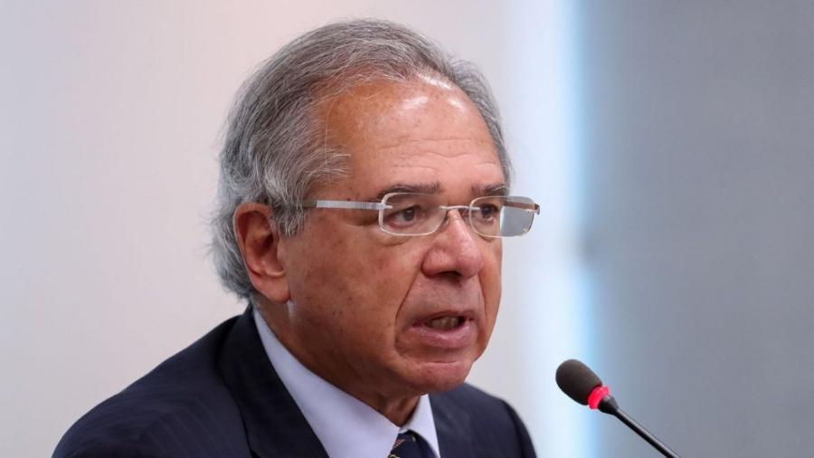 """Guedes defende """"flexibilizar"""" legislação trabalhista para atender """"invisíveis"""" -                                 MARCOS CORRêA/PR"""