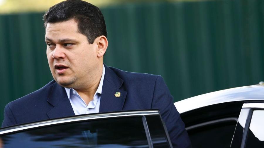 O presidente do Senado, Davi Alcolumbre  -  Agência Brasil .