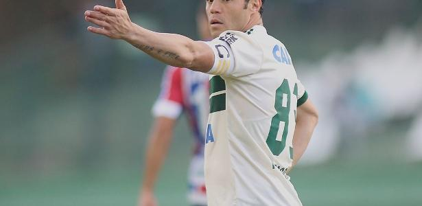 Kléber fará seu último jogo pelo Coritiba antes de cumprir a suspensão, em recurso a ser julgado