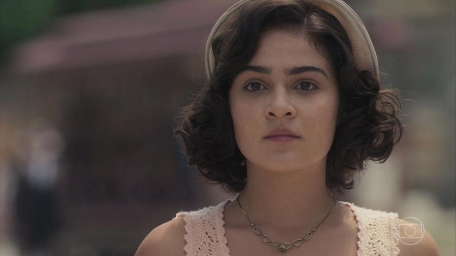 Isabel (Giullia Buscacio) em Éramos Seis (Reprodução) - Reprodução