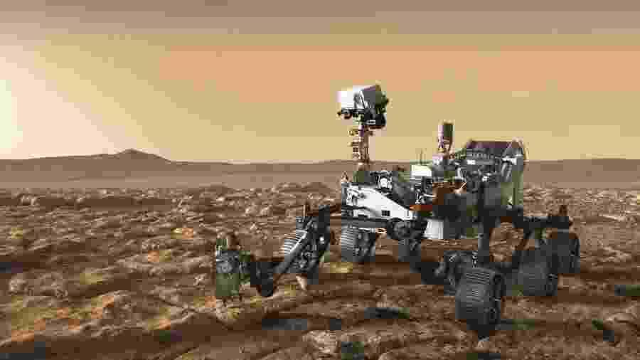 Rover Perseverance - Nasa/JPL-Caltech
