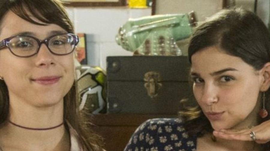 Daphne Bozaski e Gabriela Medvedovski em Malhação: Viva a Diferença (Divulgação / Globo) - Reprodução / Internet