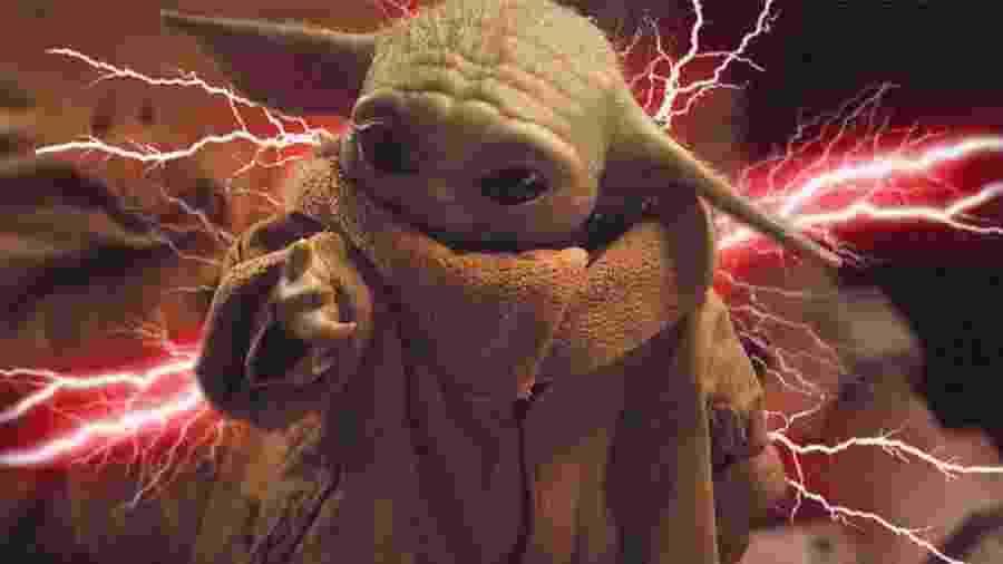 Baby Yoda  - Montagem/Reprodução