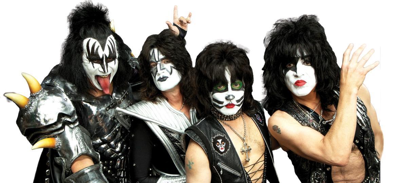 A banda nova-iorquina Kiss - Reprodução / Internet