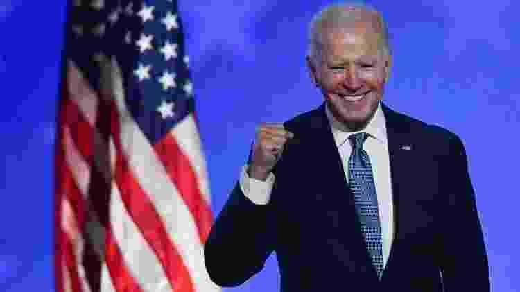 Joe Biden tem 77 anos e nasceu na Pensilvânia e é o novo presidente dos EUA                              - AFP                             - AFP