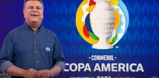 Reportagem: Gabriel Vaquer - SBT fecha com dois patrocinadores para transmissão da Copa América em junho