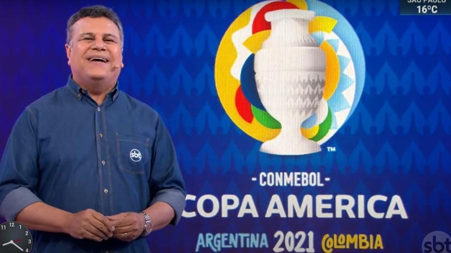 Téo José oficializa Copa América no SBT, que terá volta do Amarelinho - Reprodução / Internet