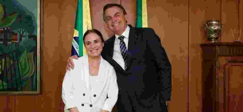 Regina Duarte deletou um dos posts de apoio à manifestação anti-Congresso - (Divulgação/Governo Federal)