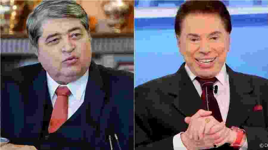 Datena já recusou convites de Silvio Santos, mas agora há outra perspectiva - Reprodução