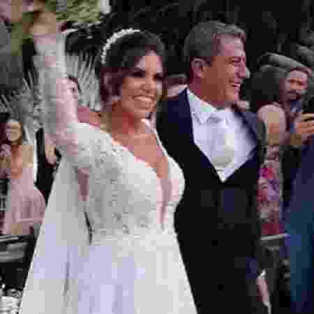 Cybelle Costa e Tom Veiga: casamento durou apenas 8 meses - Reprodução/Instagram - Reprodução/Instagram