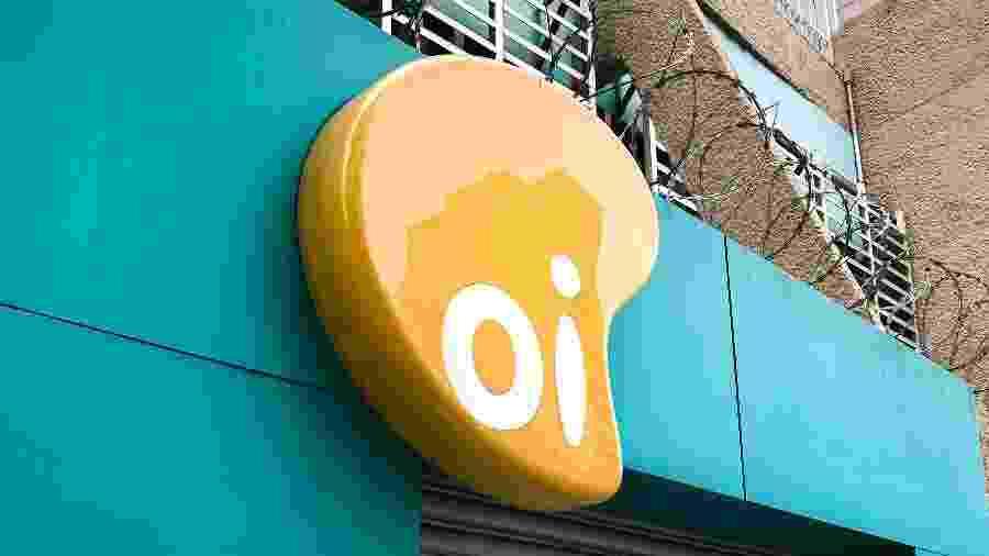 Fachada de loja a operadora Oi - Shutterstock/Reprodução