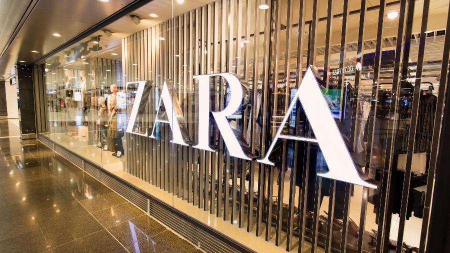 A espanhola Inditex, dona da Zara, fechará mais 5 lojas este ano no Brasil - Shutterstock