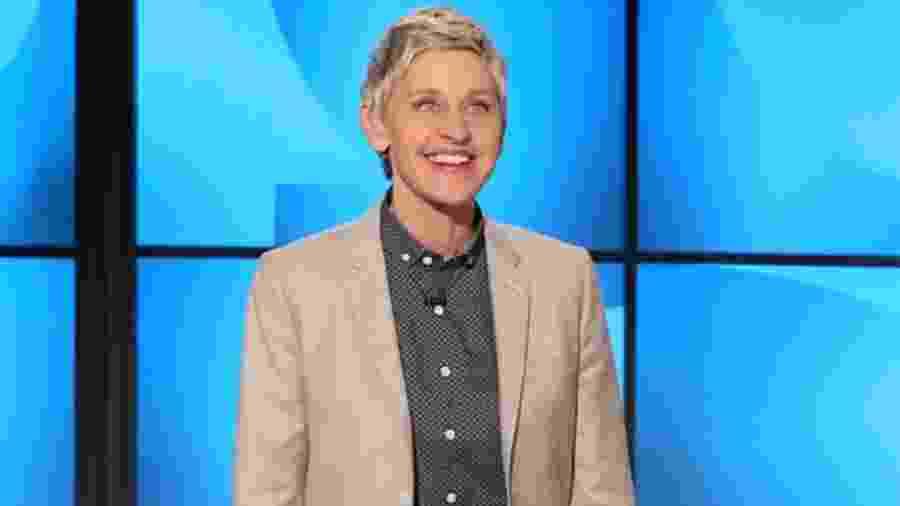 A apresentadora Ellen DeGeneres - CBS