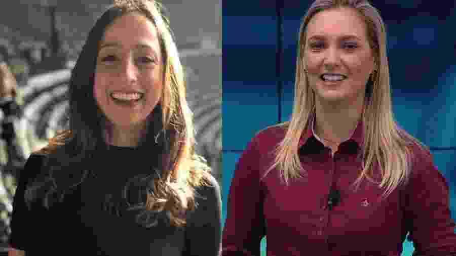 Renata Mendonça e Nadine Basttos: as novas contratações do Esporte da Globo - Reprodução / Internet