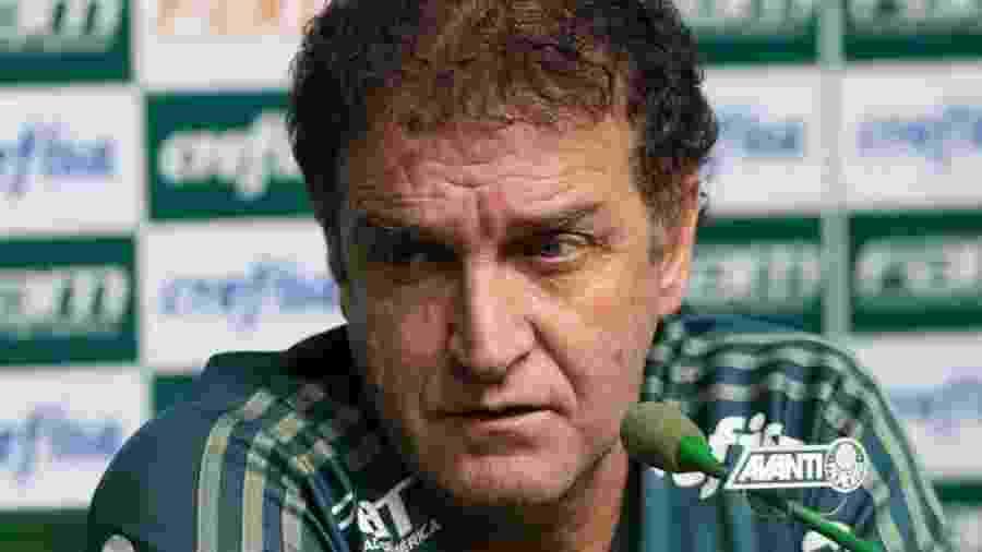 Cuca brincou sobre ganhar novo reforço e falou sobre a decisão da Conmebol - Cesar Greco/Site Palmeiras