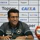 """Valentim destaca pontos positivos do Botafogo e vê subida: """"Evoluímos"""""""