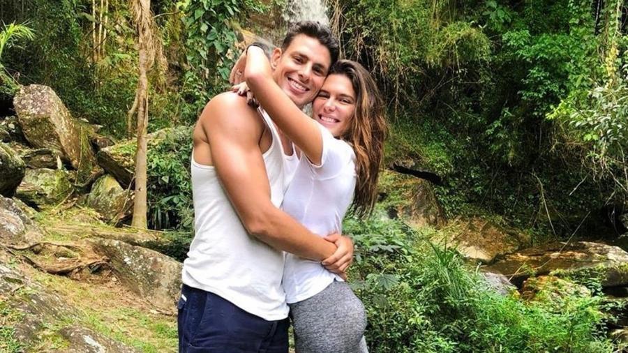 Cauã Reymond e Mariana Goldfarb  - Reprodução/ Instagram