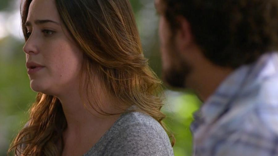 Ana conversa com Rodrigo em A Vida da Gente (Reprodução - Globo) - Reprodução / Internet