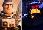 Lightyear: Imperador Zurg está no filme? Diretor responde - Teaser de Lightyear (Foto: Reprodução/YouTube) e Imperador Zorg em Toy Story (Foto: Reprodução/Pixar)