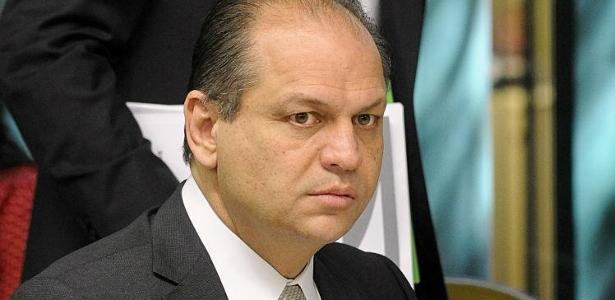 O ministro da Saúde, Ricardo Barros