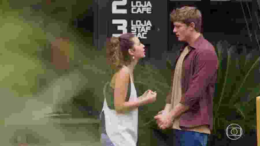 Rita (Alanis Guillen) e Filipe (Pedro Novaes) de Malhação - Toda Forma de Amar (Reprodução/TV Globo) - Reprodução/TV Globo