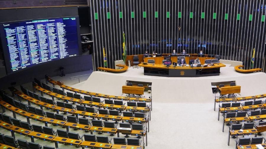 Câmara aprova texto-base que revoga Lei de Segurança Nacional -  Pablo Valadares/Câmara dos Deputados