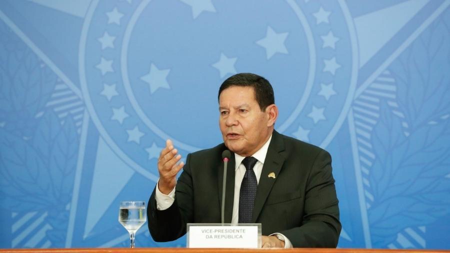 Hamilton Mourão, vice-presidente do Brasil                              -                                 ALAN SANTOS/DIVULGAçãO
