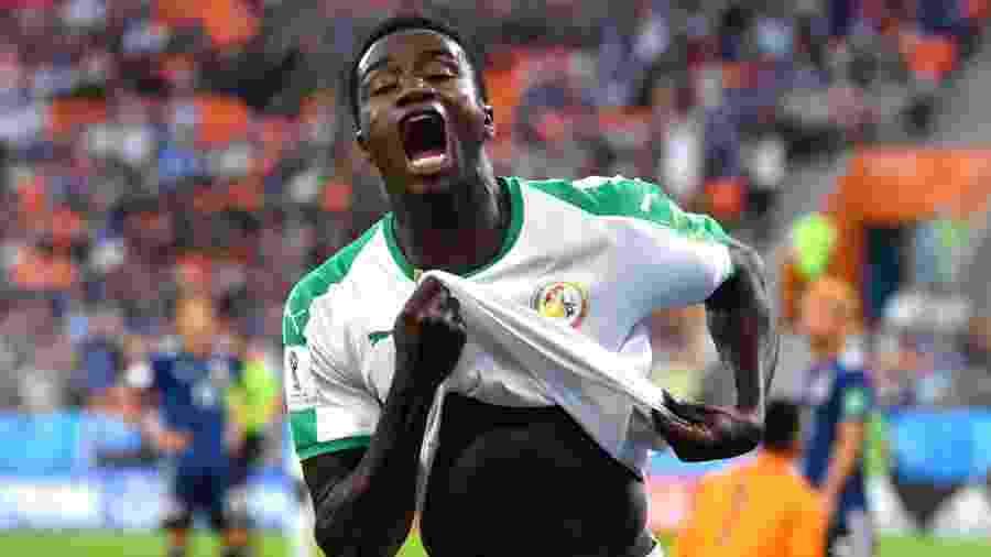Wagué anotou gol pelo Senegal no último Mundial -