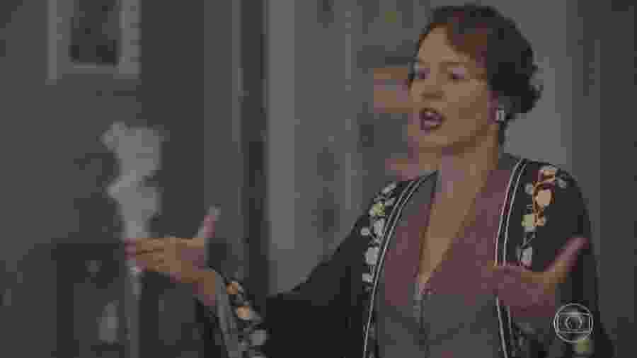Adelaide (Joana de Verona) em Éramos Seis (Reprodução) - Reprodução