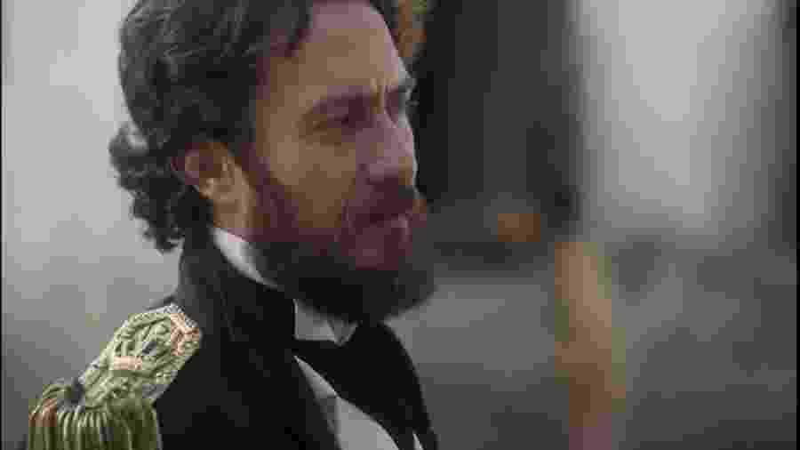 Thomas (Gabriel Braga Nunes) em Novo Mundo (Reprodução/TV Globo). - Reprodução / Internet