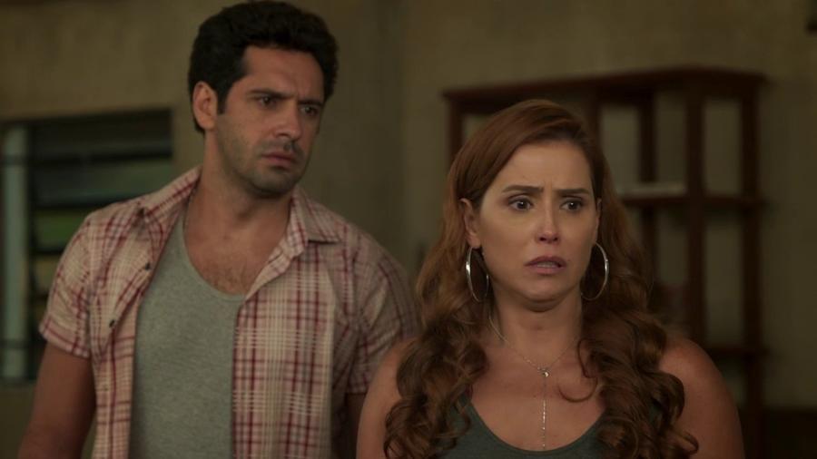 Zezinho (João Baldasserini) e Alexia (Deborah Secco) em Salve-se Quem Puder (Reprodução/TV Globo). - Reprodução / Internet