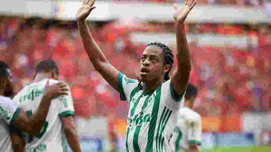 Keno admitiu que adversários podem já saber como o Palmeiras joga - Fabiano Mesquita/Framephoto/Estadão Conteúdo