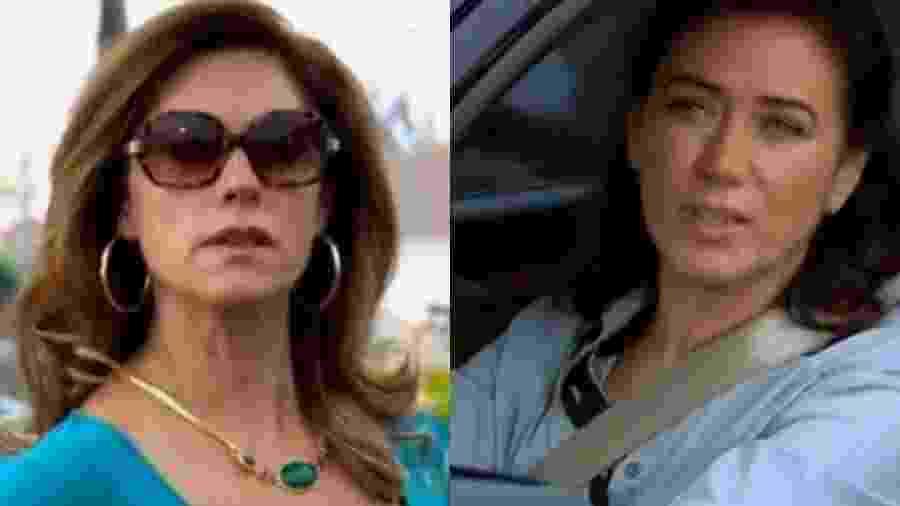 Tereza Cristina (Christiane Torloni) e Griselda (Lilia Cabral) de Fina Estampa (Reprodução - TV Globo) - Reprodução / Internet