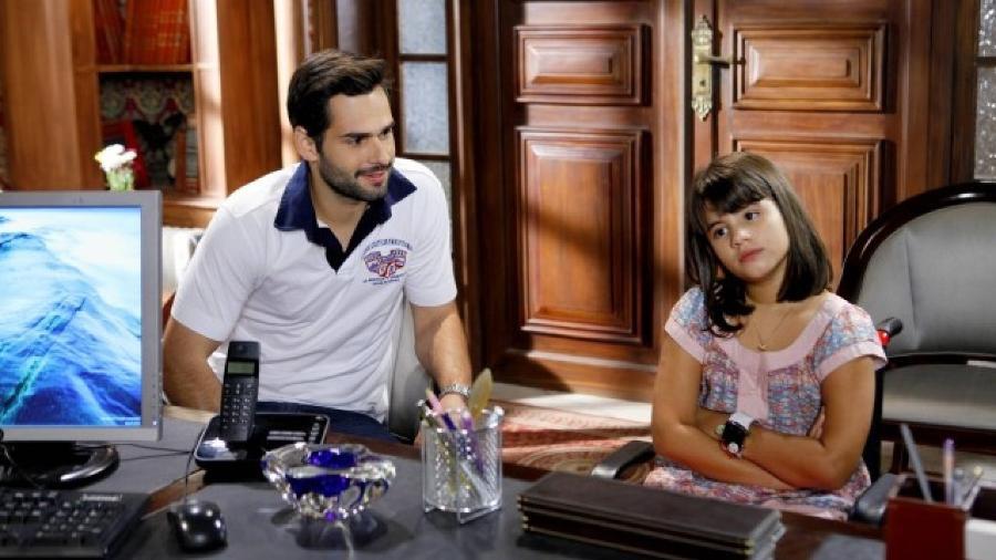 Bruno Autran e Carolina Chamberlain como Bruno e Dani em Chiquititas (Reprodução / SBT) - Reprodução / Internet