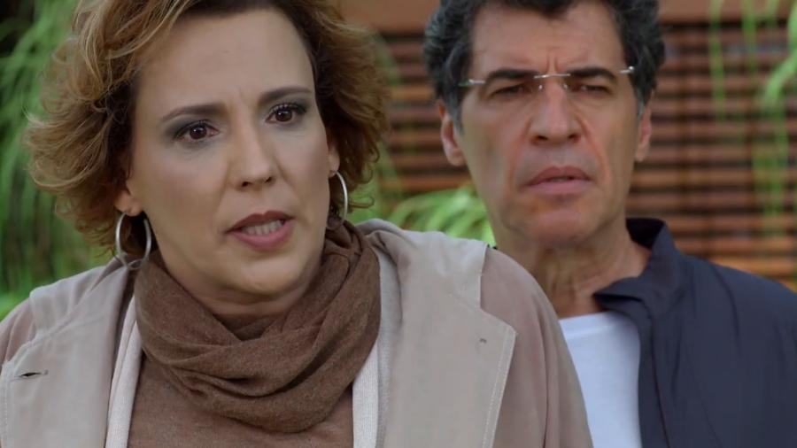 Eva (Ana Beatriz Nogueira) e Jonas (Paulo Betti) em  A Vida da Gente (Foto: Reprodução/Globo) - Reprodução / Internet