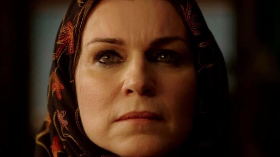 Sarai (Adriana Garambone) em Gênesis (Reprodução/Record TV) - Reprodução / Internet