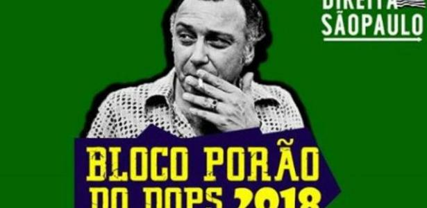 O nome do bloco paulista faz referência ao órgão da ditadura militar responsável por repressão política e tortura