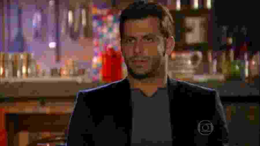 Cassiano (Henri Castelli) em Flor do Caribe (Reprodução/TV Globo). - Reprodução / Internet