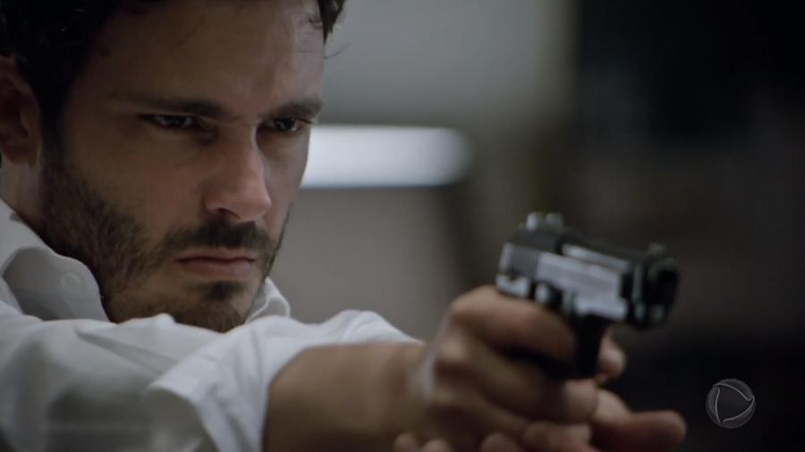 Tobias (Thiago Rodrigues) em cena de Amor Sem Igual (Reprodução / Record TV) - Reprodução / Internet