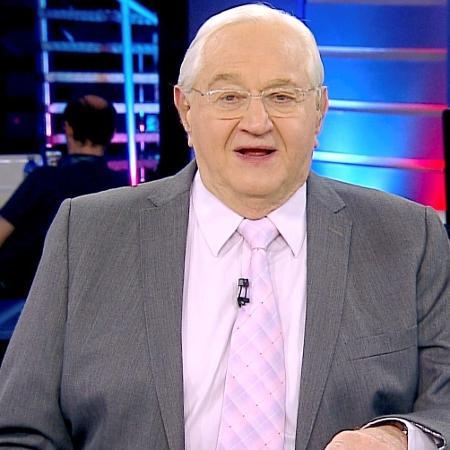 O jornalista Boris Casoy, que está deixando a RedeTV! após quatro anos -