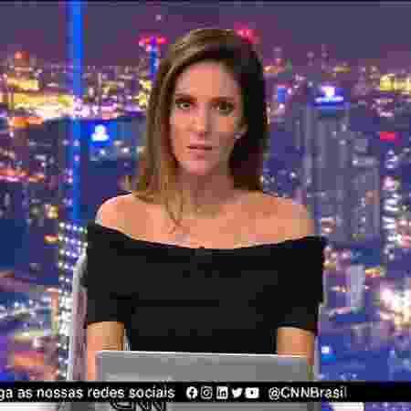 Monalisa Perrone, uma das principais âncoras da CNN Brasil, recebeu diagnóstico de covid-19  - Reprodução / Internet